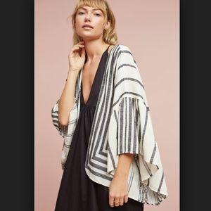 Aggie Ruffle Kimono / Coverup
